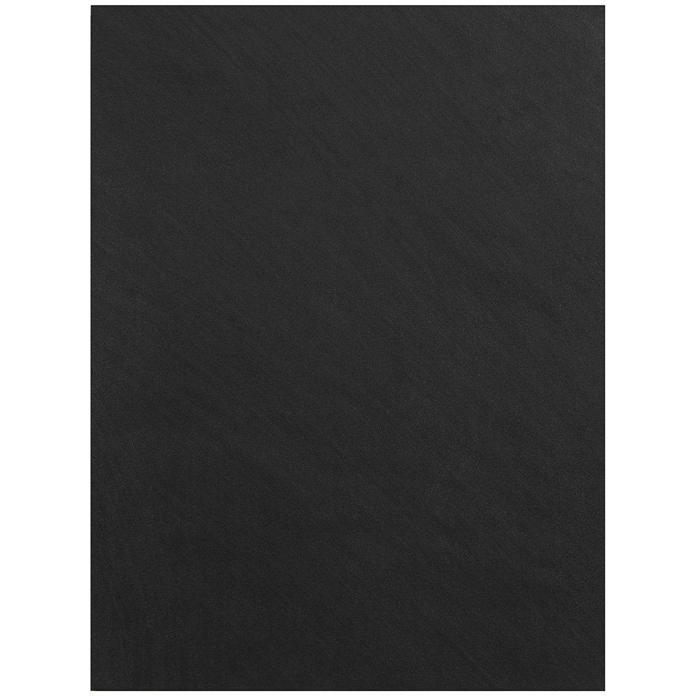 JAM Paper Handmade Recycled Folder - Black Metallic - Sold Individually