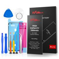 Flylinktech for iPhone 6 Plus Battery Replacement, 3500mAh High Capacity Li-ion Battery with Repair Tool Kit-Included 24 Months Assurance