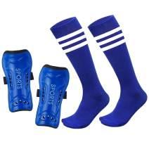 Mypre Soccer Shin Guards & Soccer Socks for Kids