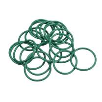 uxcell Fluorine Rubber O Rings, 34mm OD, 29.2mm Inner Diameter, 2.4mm Width, Seal Gasket Green 20Pcs