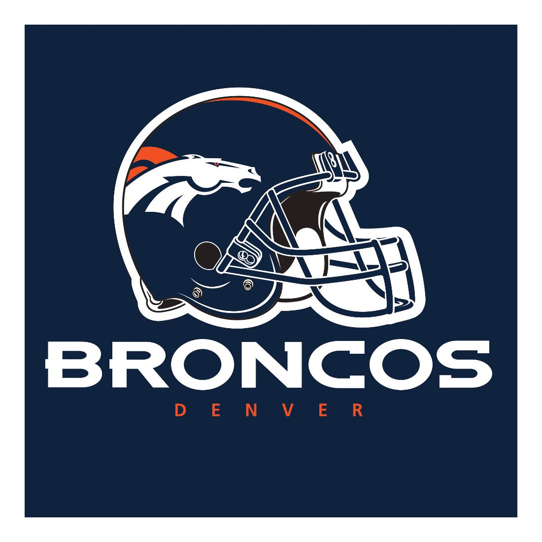 Creative Converting Officially Licensed NFL Paper Lunch Napkins, 192-Count, Denver Cowboys
