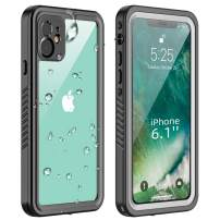 SHIWELY iPhone 11 Case, IP68 Certified Premium Waterproof Sealed Case, Heavy Duty Full-Body Protective Cover with Clear Audio Quality and Built-in Screen Protector for iPhone 11
