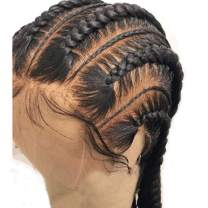 """Fake Scalp 360 Lace Frontal Wig for Black Women 150% Density 360 Lace Frontal Wig with Baby Hair Virgin Brazilian Human Hair Wigs Glueless 360 Lace Wig Pre Plucked Silky Straight Wigs 16"""""""