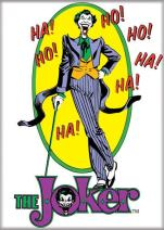 "Ata-Boy DC Comics Dapper Joker with Cane 2.5"" x 3.5"" Magnet for Refrigerators and Lockers"