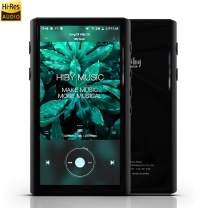 HiBy R5 Hi-Res Audio Player, High Resolution Lossless MP3/MP4 Music Player with HiFi Bluetooth/Amazon Music Ultra HD/aptX HD/LDAC/USB DAC/UAT/Android 8.1/FM/MOA, Support WiFi with Full Touch Screen