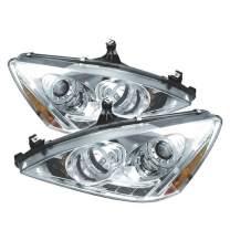 Spyder Auto Honda Accord Chrome Halogen LED Projector Headlight