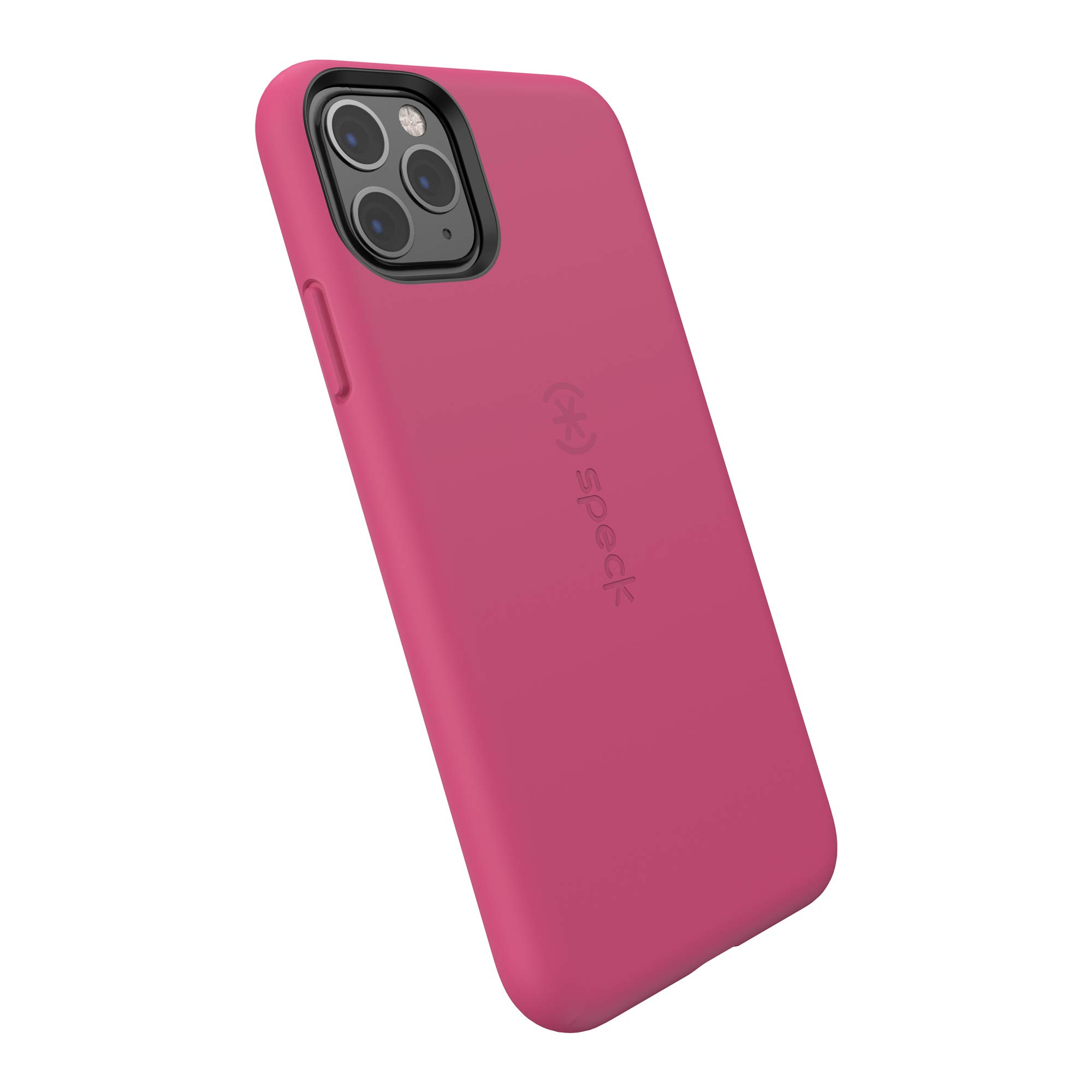 Speck CandyShell Fit iPhone 11 Pro Max Case, Berry Pink/Berry Pink