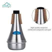 EASTROCK Lightweight Aluminum Practice Trumpet Mute Cup Mute Trumpet Accessories