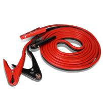 Heavy Duty 20Ft 2Gauge Booster Cable Power Jumper 600AMP Emergency Battery Start Car/Motorcycle