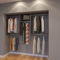 Modular Closets 7 FT Plywood Closet Organizer System - 84 inch - Style A