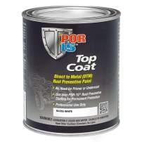 POR-15 46808 Top Coat Gloss White Paint 16. Fluid_Ounces