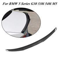JC SPORTLINE G30 G38 F90 CF Rear Trunk Lip, fits BMW 5 Series G30 G38 520i 530i 540i 550i F90 M5 Sedan All Models 2017 2018 2019 Carbon Fiber Rear Trunk Spoiler Boot Deck Lid Wing
