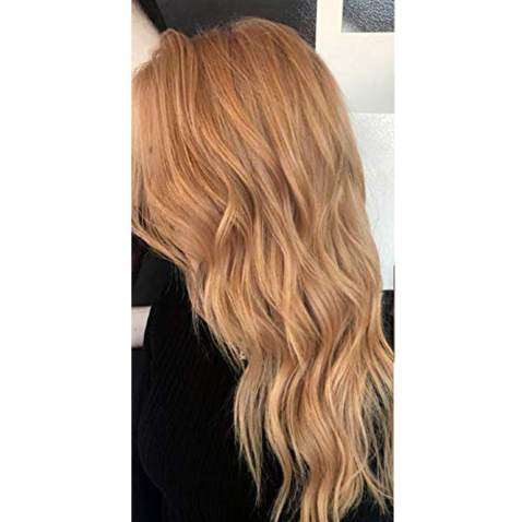 Moresoo 16 Inch Blonde Skin Weft Hair Extensions 20PCS 50G Invisible Tape in Extensions Color 27M Blonde Seamless Hair Extensions Human Hair