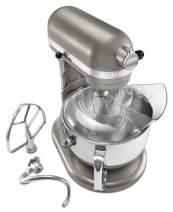 KitchenAid Professional 600 Architect Series KP26M1XACS Bowl-Lift Stand Mixer, 6 Quart, Cocoa Silver