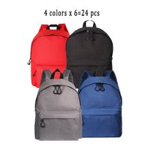 Wholesale Fashion Student School Backpack Durable Canvas Book Bags Lightweight Travel Daypack