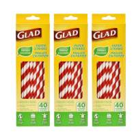 Glad Eco-Friendly Paper Straws