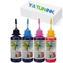 YATUNINK Premium Dye Ink Replacement for Canon PG 210XL CL 211XL Refill Kit Compatible with Canon PIXMA iP2700 iP2702 MP490 MP499 MX340 MX360 Printers(50ml x 4 Pack )