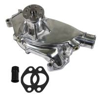 DEMOTOR PERFORMANCE High Flow Polished Aluminum Short Water Pump for Big Block Chevy 396 427 454 BBC
