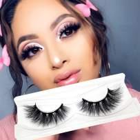 Fyonas Mink Lashes,Mink Eyelashes,Natural Falses Eyelashes,Fake Lashes,Luxury Makeup(F30 Eyelashes with Tweezers)
