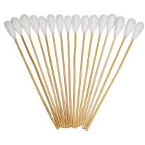 "Tipton Power Swabs with Reliable Cotton Construction and 7.5"" Bamboo Handle for Mess-Free Gun Cleaning, Gunsmithing and Shooting"