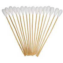 """Tipton Power Swabs with Reliable Cotton Construction and 7.5"""" Bamboo Handle for Mess-Free Gun Cleaning, Gunsmithing and Shooting"""