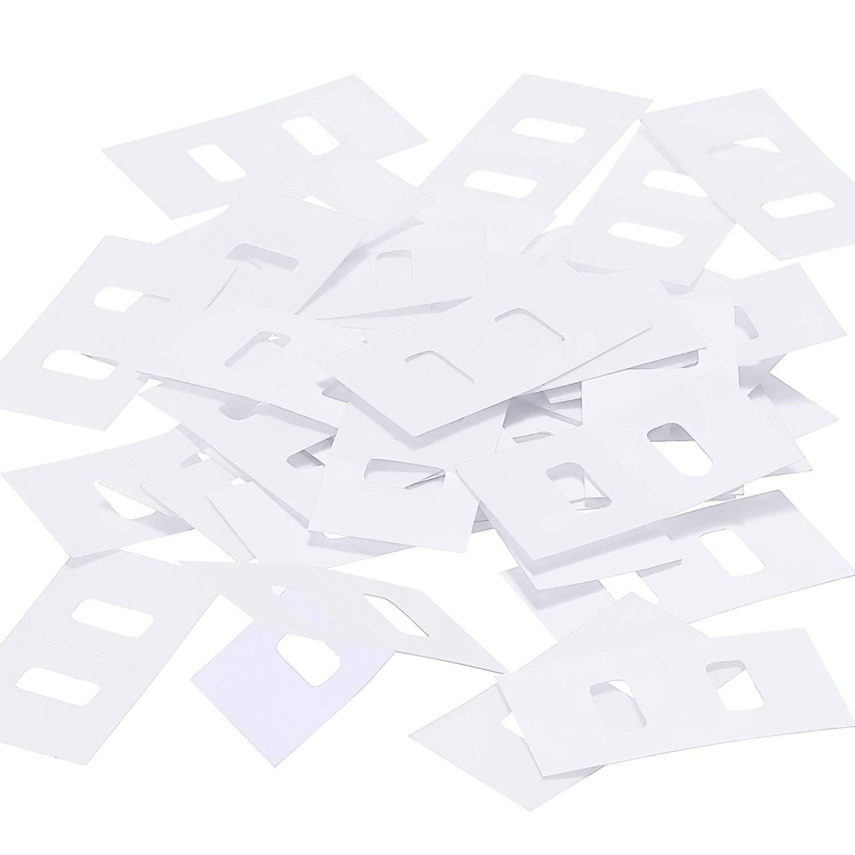 TOODOO Vertical Blind Repair Tabs Vertical Blind Vane Saver, Clear (40 Pieces)