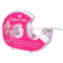 Boob Body Tape Clear Fabric Strong Double Sided Tape for Clothes Dress Bra Skin Bikini (5m/16ft)
