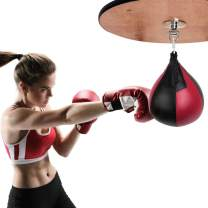 VAlinks Speed Bag with Free Air Pump, Boxing Speed Ball Punching Bag for MMA Muay Thai Fitness Workout Training Fight Sports