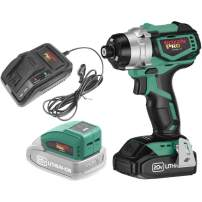 Grizzly PRO T30291X1U - 20V Impact Driver with Battery and Charger + USB Adaptor