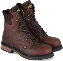 "Thorogood Men's American Heritage 8"" Classic Plain Toe, Safety Toe Boot"