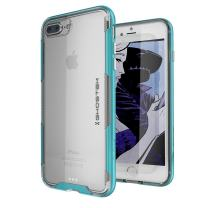 iPhone 8 Plus / 7 Plus Case, Ghostek Cloak 3 Series Slim TPU Ultra Durable Cover (Teal)