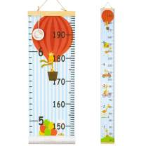QtGirl Kids Growth Chart, Height Chart for Child Height Measurement Wall Hanging Rulers Room Decoration for Girls, Boys, Toddlers(Giraffe)