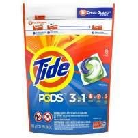 Tide PODS Liquid Laundry Detergent Pacs, Original, 35 count