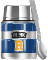 Riverdale VarsITy Letter, THERMOS STAINLESS KING Stainless Steel Food Jar with Folding Spoon, Vacuum insulated & Double Wall, 16oz