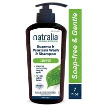 Natralia Eczema and Psoriasis Body Wash and Shampoo, 7 Ounce Bottle