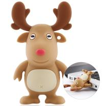 Bone Collection 16GB USB 3.0 Flash Drive, Novelty Cool Cartoon Character Design Silicone Enclosure Memory Stick Thumb Drive Jump Drive Pen Drive Pendrive for Students Kids - Mr. Deer