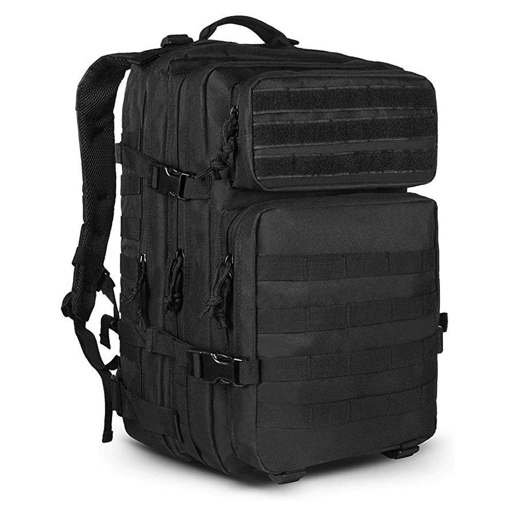 LHI FBM 45L 900D Tactical Backpack 3 Day Military Assault Survival EDC Pack for Outdoor and Daily Use
