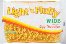 Light 'n Fluffy Wide Egg Noodles, 12 oz Bag