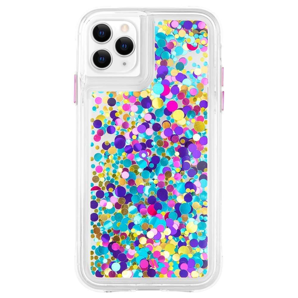Case-Mate - iPhone 11 Pro Max Glitter Case - Waterfall - 6.5 - Confetti