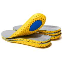 3 Pairs Elastic Shock Absorbing Shoe Insoles Breathable Honeycomb Sneaker Inserts Sports Shoe Insole Replacement Insoles for Women US(4-8.5)