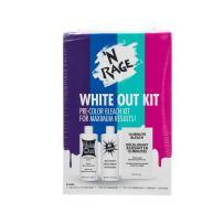 'N Rage Bleach & Toner Kit, White Out Kit Pre Color Hair Bleach Kit