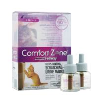 Comfort Zone Feliway Diffuser Refills for Cats and Kittens, 2 Pack