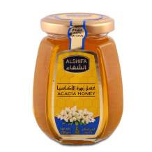 AL SHIFA Pure Raw Acacia Honey, 250g, Gold