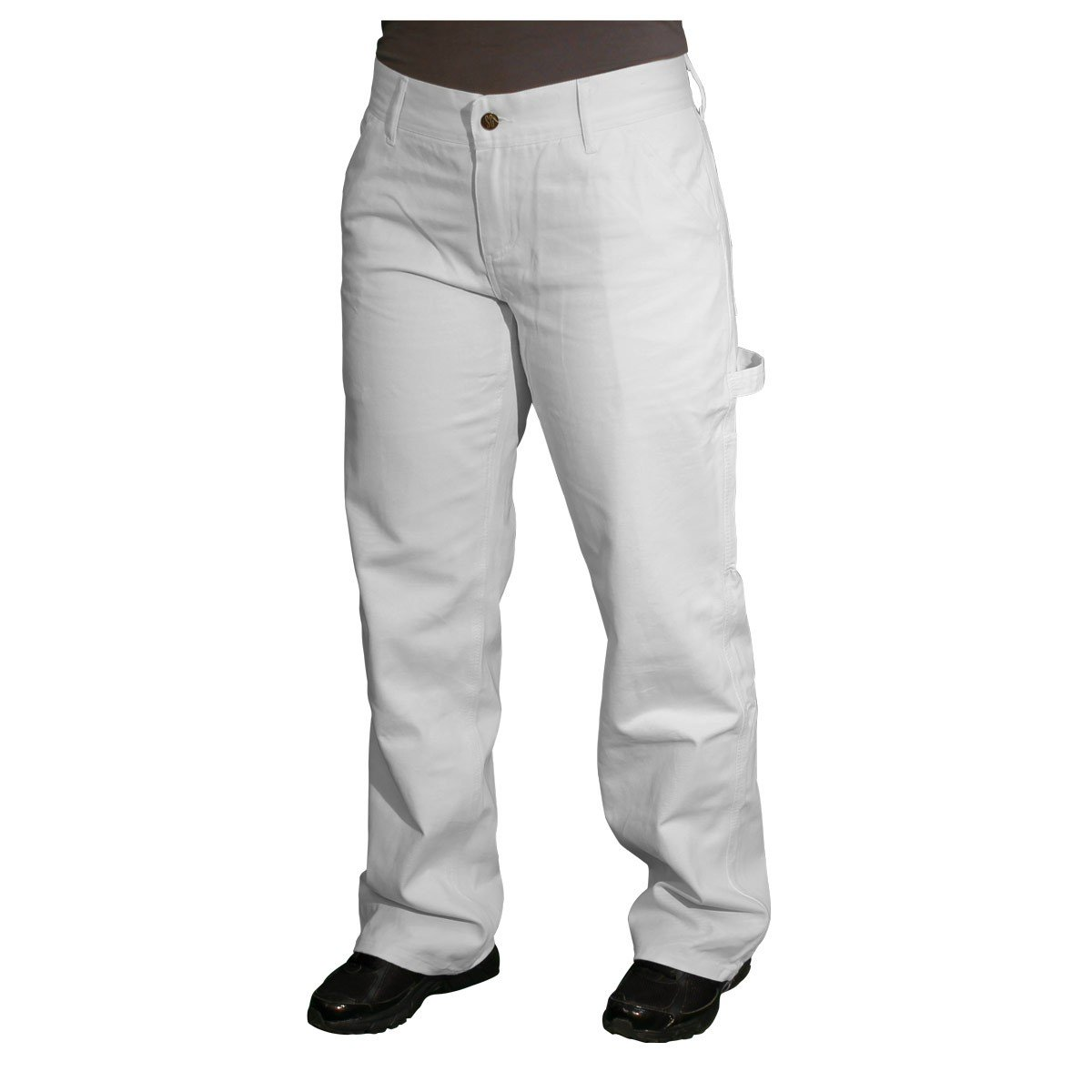 Safety Girl Painters Pants (14 Tall, White)