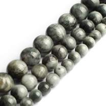 Song Xi Natural Eagle A+ Hawk's Eye Natural Stone Round Loose Beads 6mm 15inches Beads for Jewelry Making