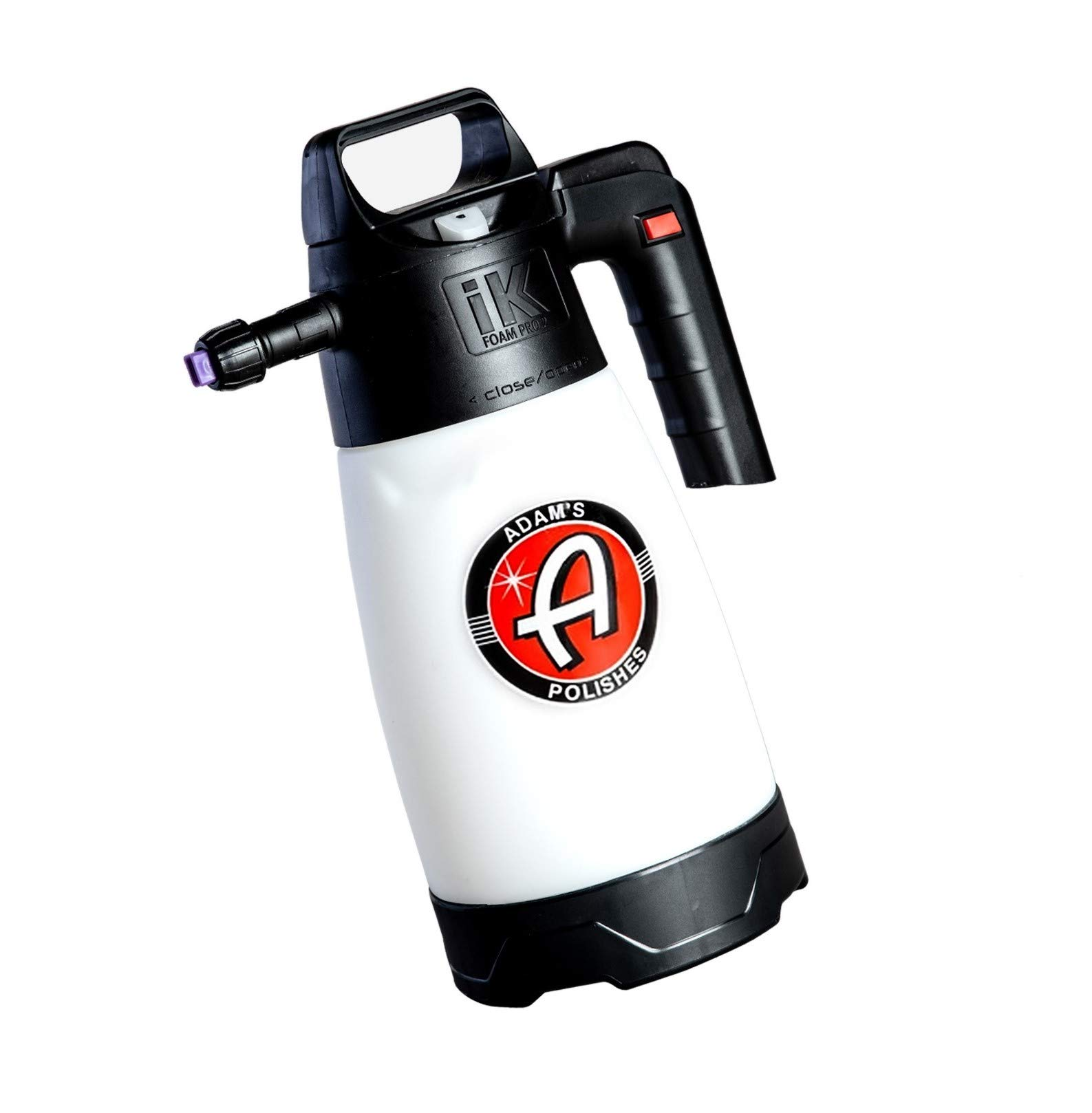Adam's IK Pro 2 Foaming Pump Sprayer - Pressure Foam Sprayer for Car Cleaning Kit Car Wash Car Detailing | Fill with Car Wash Soap Wheel Cleaner Tire Cleaner Rim | Water Sprayer Lawn Garden Weeds