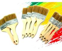 PANCLUB Chip Paint Brushes Bulk Assorted Size | 40 Pack of Paint Brush for Home Wall Trim House | for Paint, Gesso, Glues, Varnishes, Stains, and Acrylics