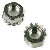 Keps K-Lock Nuts 304 Stainless Steel Lock Nuts #6-32 - 250 Pack
