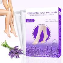 Foot Mask 2 Pairs,Exfoliating Foot Peel Mask,Peel Away Calluses & Dead Skin, Repair Rough Heels in 1-2 Weeks …