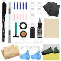 Wormhole Tattoo Stick and Poke Tattoo Kit Tattoo Needles Microblading Pen for Tattoo Supplies and Eyebrow(TK095)